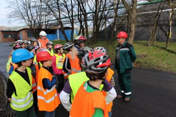 Pupils Learnt about Heating Plant Production